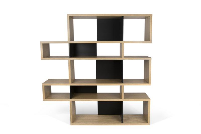 London bookcase 002 oak and black backs temahome treniq 1 1533289454146