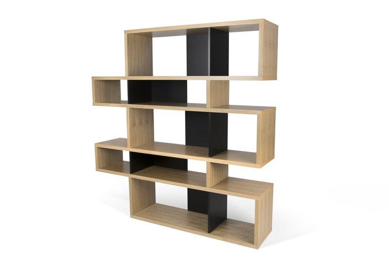 London bookcase 002 oak and black backs temahome treniq 1 1533289454148