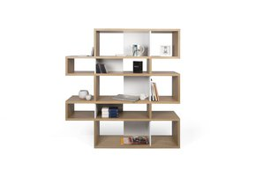 London-Bookcase-002-Oak-And-White-Backs_Tema-Home_Treniq_0