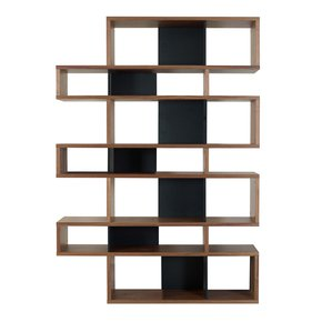 London-Bookcase-003-Walnut-And-Black-Backs_Tema-Home_Treniq_0