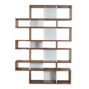 London-Bookcase-003-Walnut-And-White-Backs_Tema-Home_Treniq_0