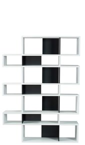 London-Bookcase-003-White-And-Black-Backs_Tema-Home_Treniq_0