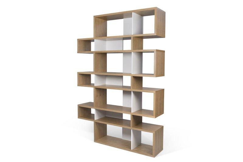 London bookcase 003 oak and white backs temahome treniq 1 1533292563470