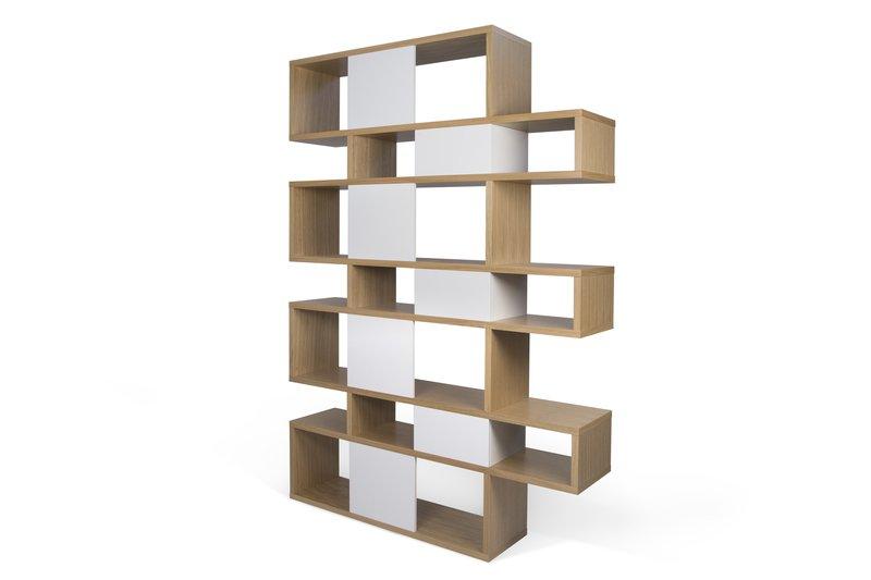 London bookcase 003 oak and white backs temahome treniq 1 1533292563472