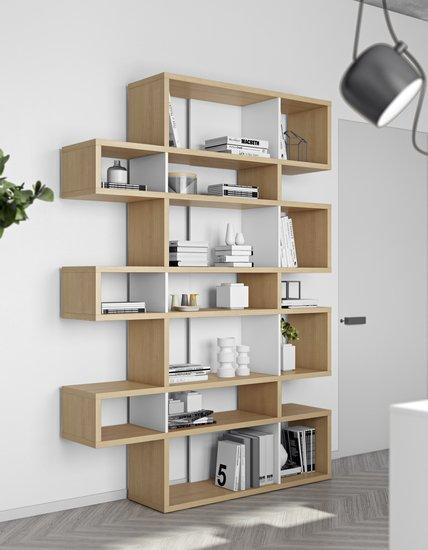 London bookcase 003 oak and white backs temahome treniq 1 1533292563474