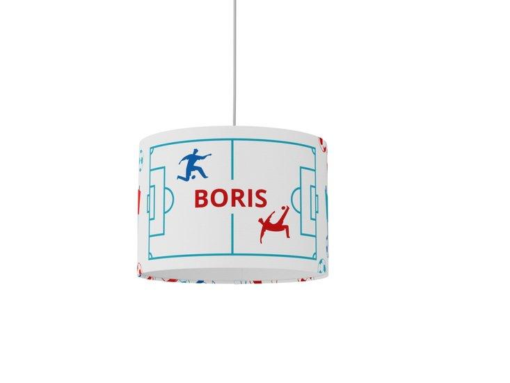 Boys room decor  nursery lamp  personalized gift  white lamp  soccer gift studio zappriani treniq 1 1533649811853