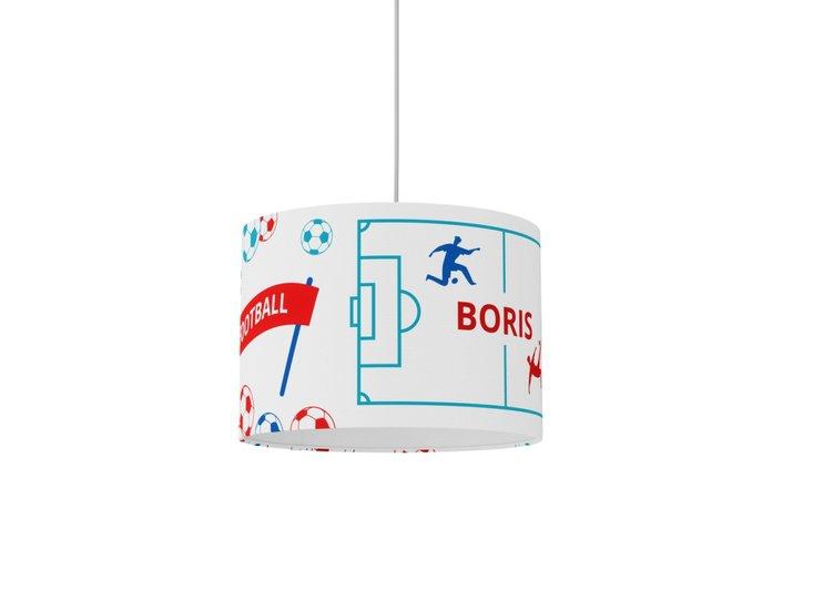 Boys room decor  nursery lamp  personalized gift  white lamp  soccer gift studio zappriani treniq 1 1533649822088