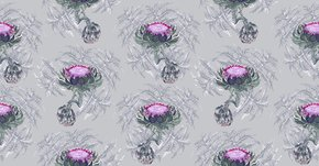 Carciofi-Forest-Green-And-Magenta-Wallpaper_Ailanto-Design-By-Amanda-Ferragamo_Treniq_0