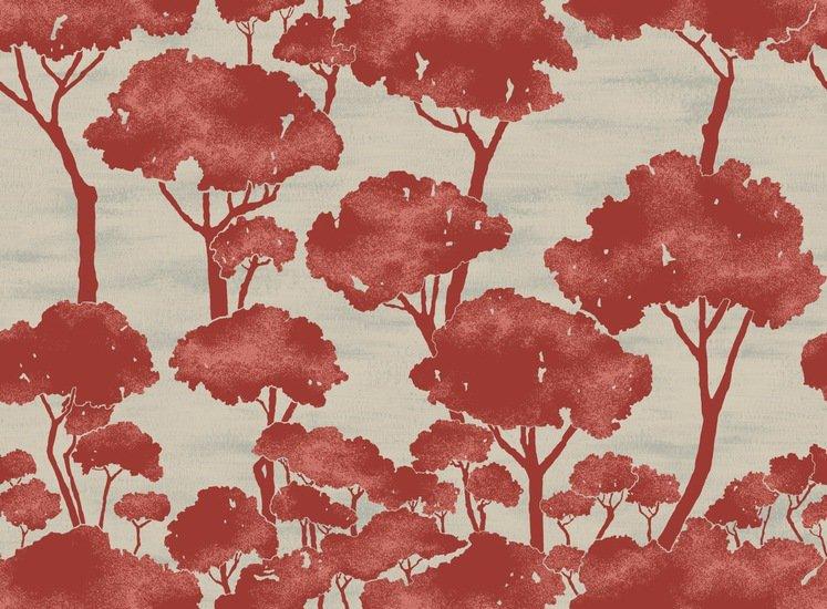 Pini burnt orange wallpaper ailanto design by amanda ferragamo treniq 1 1533703445536
