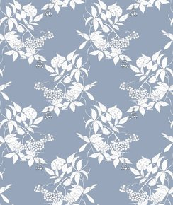 Sambuco-Sketch-White-On-Grey-Blue-Wallpaper_Ailanto-Design-By-Amanda-Ferragamo_Treniq_0