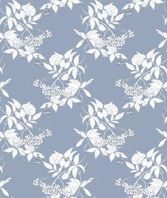 Sambuco-Sketch-White-On-Grey-Blue-Wallpaper_Ailanto-Design-By-Amanda-Ferragamo_Treniq_0