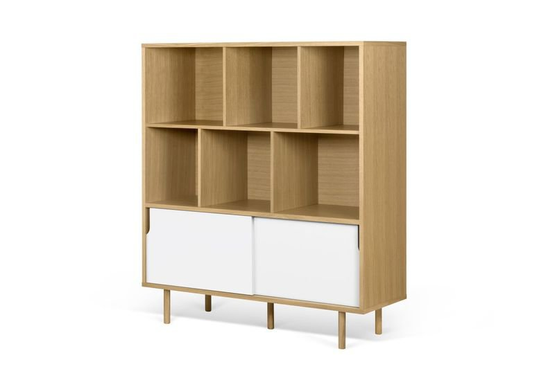 Dann cupboard with white doors and wooden legs  temahome treniq 1 1533910400949