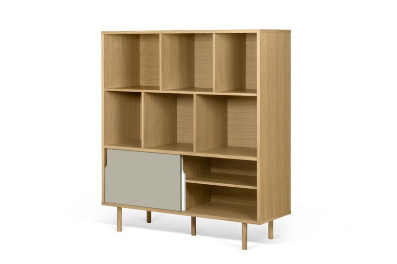 Dann cupboard with white and grey doors and wooden legs temahome treniq 1 1533910489026