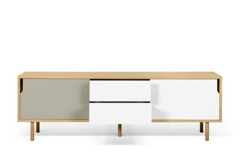 Dann sideboard 201 with white and grey doors and wooden legs temahome treniq 1 1533910611221