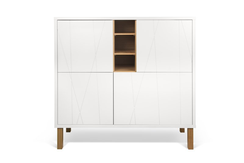 Niche cupboard with pattern with feet temahome treniq 1 1533915813672