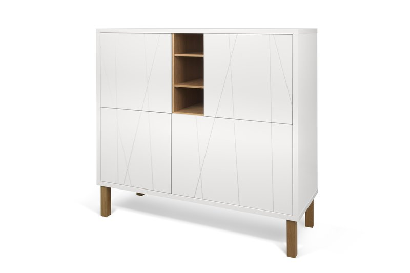 Niche cupboard with pattern with feet temahome treniq 1 1533915813674