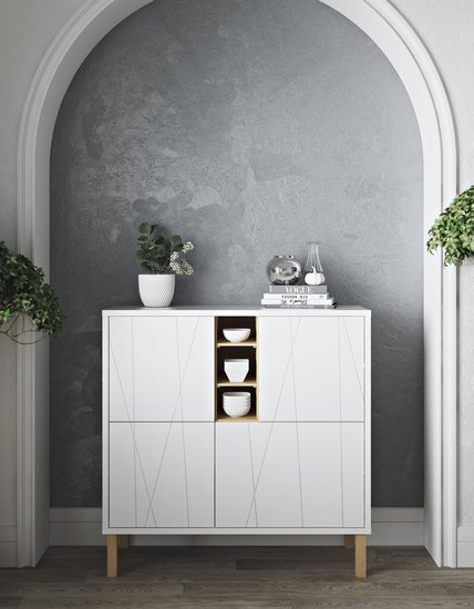 Niche cupboard with pattern with feet temahome treniq 1 1533915813687