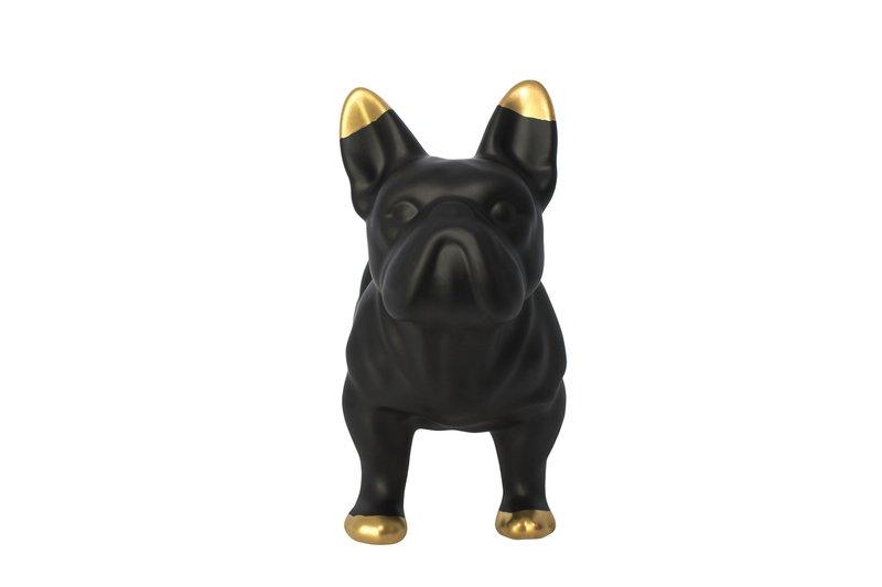 Black ceramic bulldog mineheart treniq 1 1534149698044