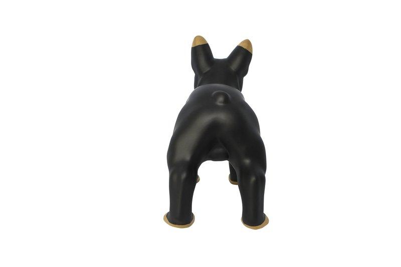 Black ceramic bulldog mineheart treniq 1 1534149700372