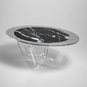 Hac-Oval-Fume-Glass-Grey-Marble_Madea-Milano_Treniq_0
