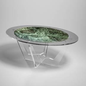 Hac-Oval-Fume-Glass-Green-Marble_Madea-Milano_Treniq_0