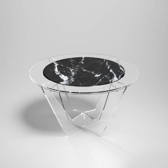 Hac round carnico grey marble madea milano treniq 1 1534226921657