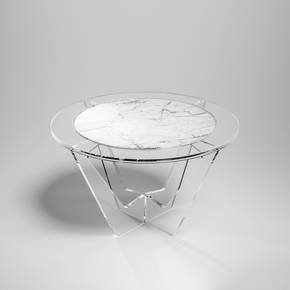 Hac-Round-White-Carrara-Marble_Madea-Milano_Treniq_0