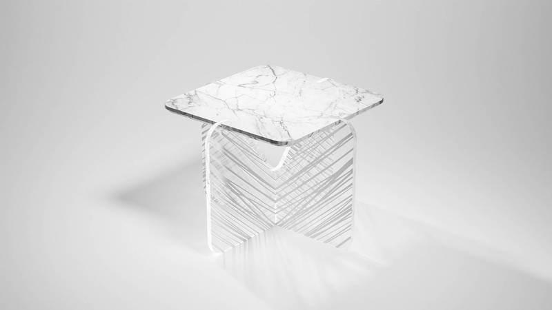 Alchimia white plexi stripes madea milano treniq 1 1534227772753
