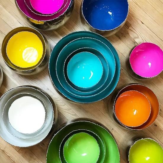 Holi extra large turquoise bowl mela artisans treniq 1 1534352102018