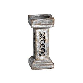 Trellis-Candleholder-Small-In-Distressed-Silver_Mela-Artisans_Treniq_0