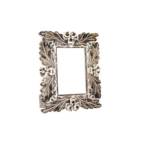 Oak-Leaf-Frame-In-Distressed-Ivory-Over-Medium-Burnt_Mela-Artisans_Treniq_0