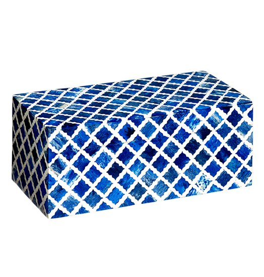 Fantasy box small in indigo and white mela artisans treniq 1 1534438431790