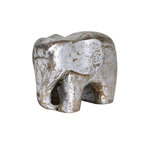 Elephant-Figurine-In-Distressed-Silver_Mela-Artisans_Treniq_0