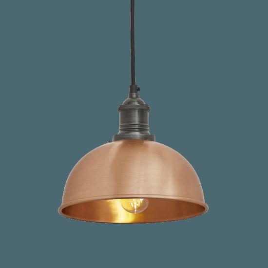 Brooklyn dome pendant light   8 inch industville treniq 1 1534509163873