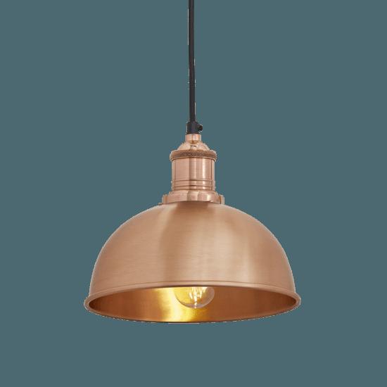 Brooklyn dome pendant light   8 inch industville treniq 1 1534509163872