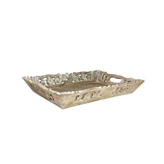 Wisteria tray medium in distressed ivory over natural mela artisans treniq 1 1534509831991