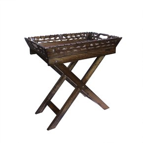Wisteria-Folding-Tray-Table-In-Medium-Polish_Mela-Artisans_Treniq_0