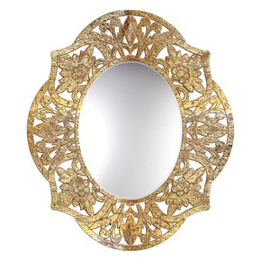 Adrienne-Oval-Mirror-In-Gold-Over-Natural_Mela-Artisans_Treniq_0