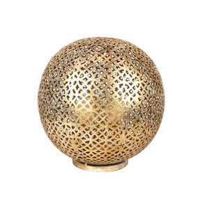 Mantra-Globe-Lantern-Medium-In-Shiny-Gold_Mela-Artisans_Treniq_0