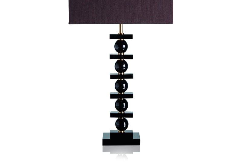 Lonely black table lamp dettagli firenze treniq 3