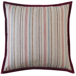 Alita Stripe Rose Pillow