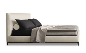 Andersen Bed Quilt Leather