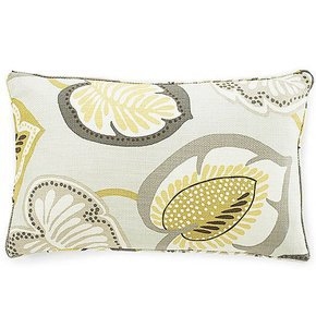 Hosta Lily Celadon Pillow