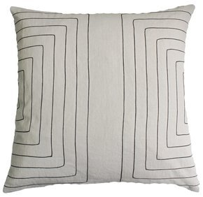 Linen Streams Charcoal