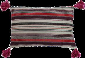 Lines Tassel Pillow
