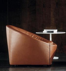 Capri Armchair Base Version Leather