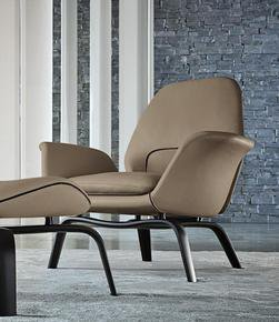 Gilliam Armchair Leather