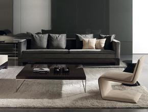 Klimt Leather 3 Seater
