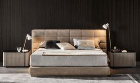 Lawrence Bed Leather