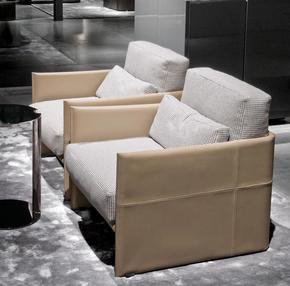 Luggage Armchair Leather